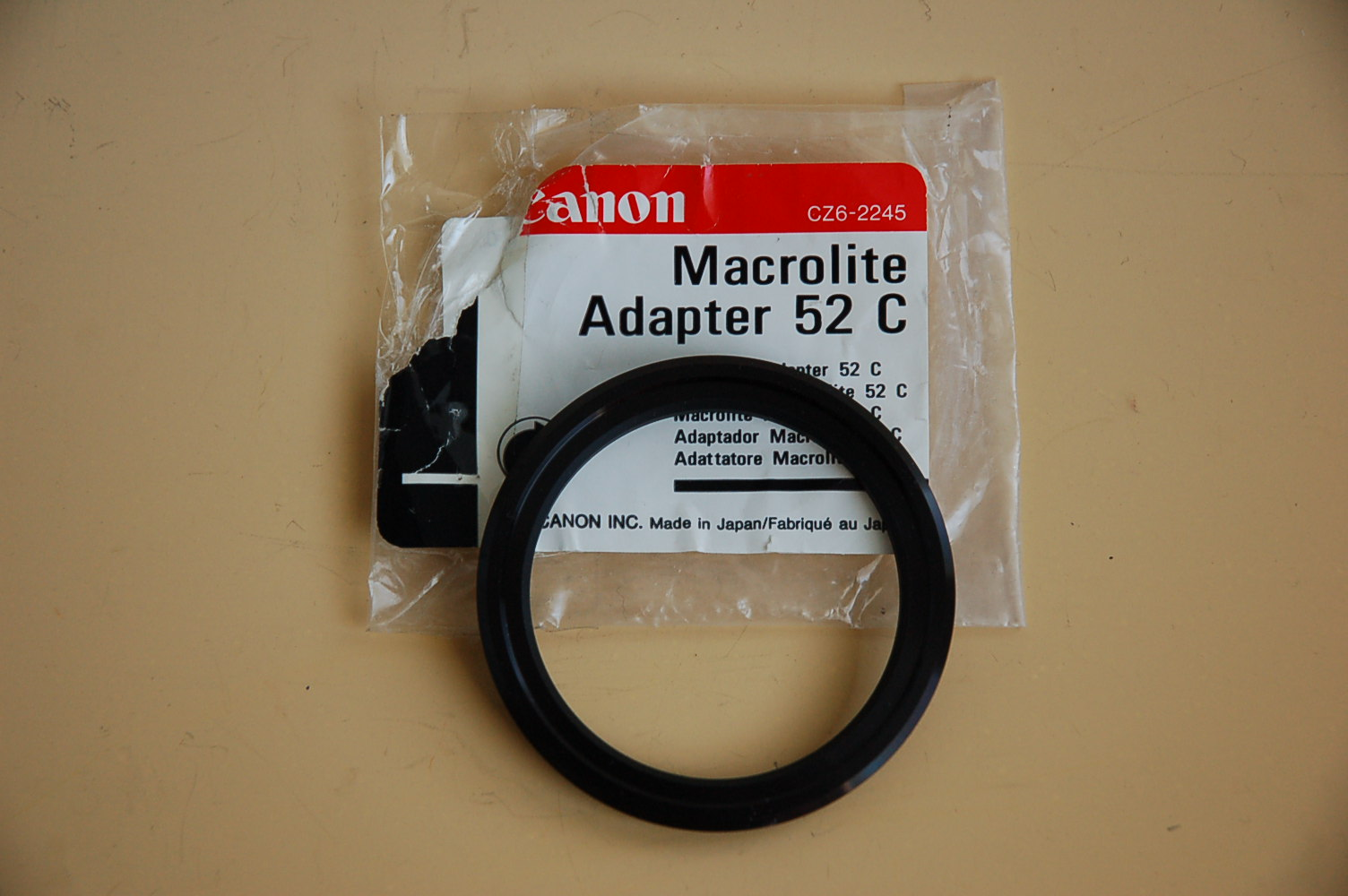 Canon Macro Ring Lite-Adapter 52C