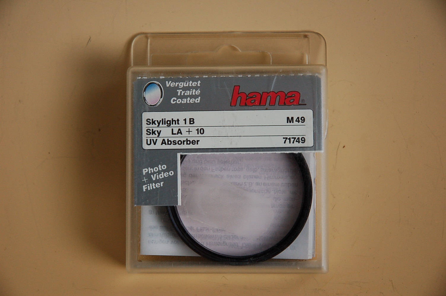 Hama Filter Skylight 1B (LA+10) M49 #71749