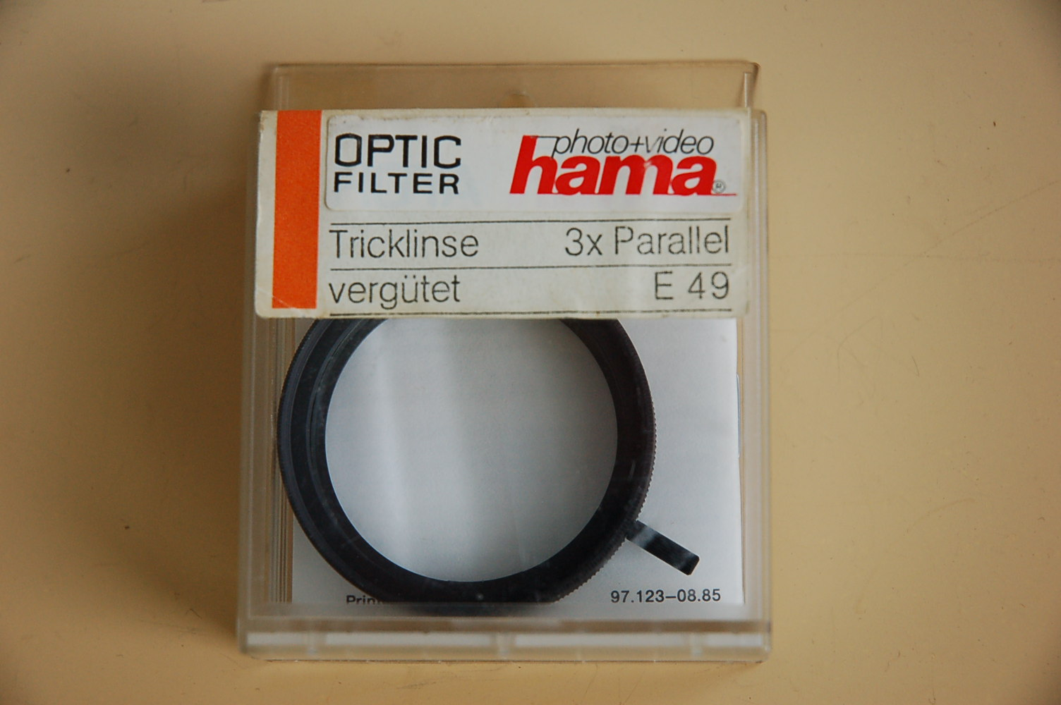 Hama Filter Tricklinse 3-fach Parallel M49 #48249