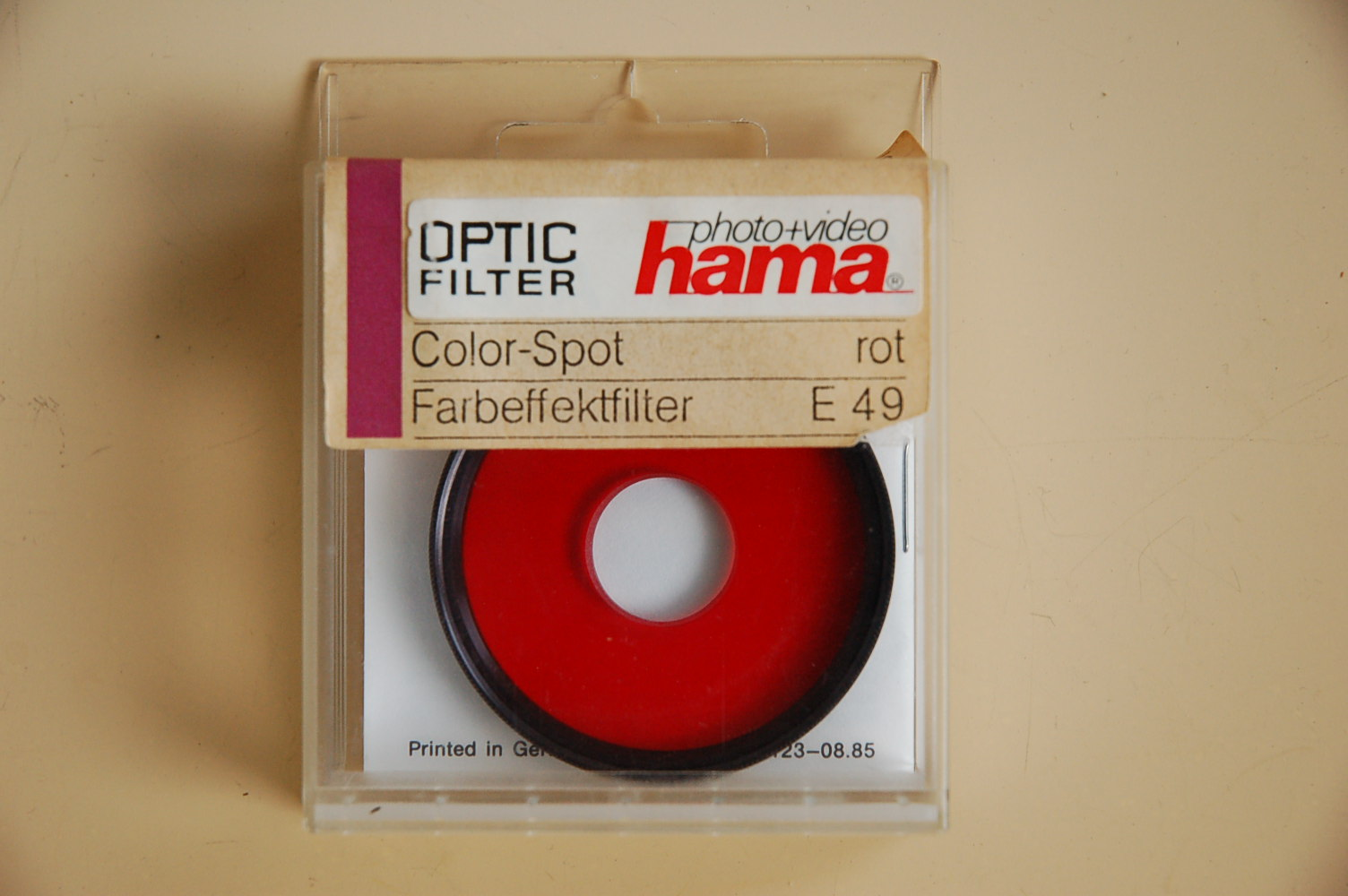 Hama Filter Color Spot rot M49 #82049