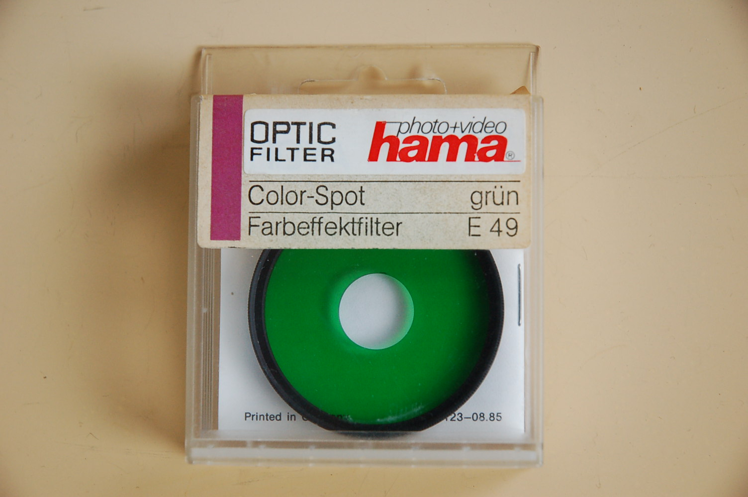 Hama Filter Color Spot grün M49 #82149