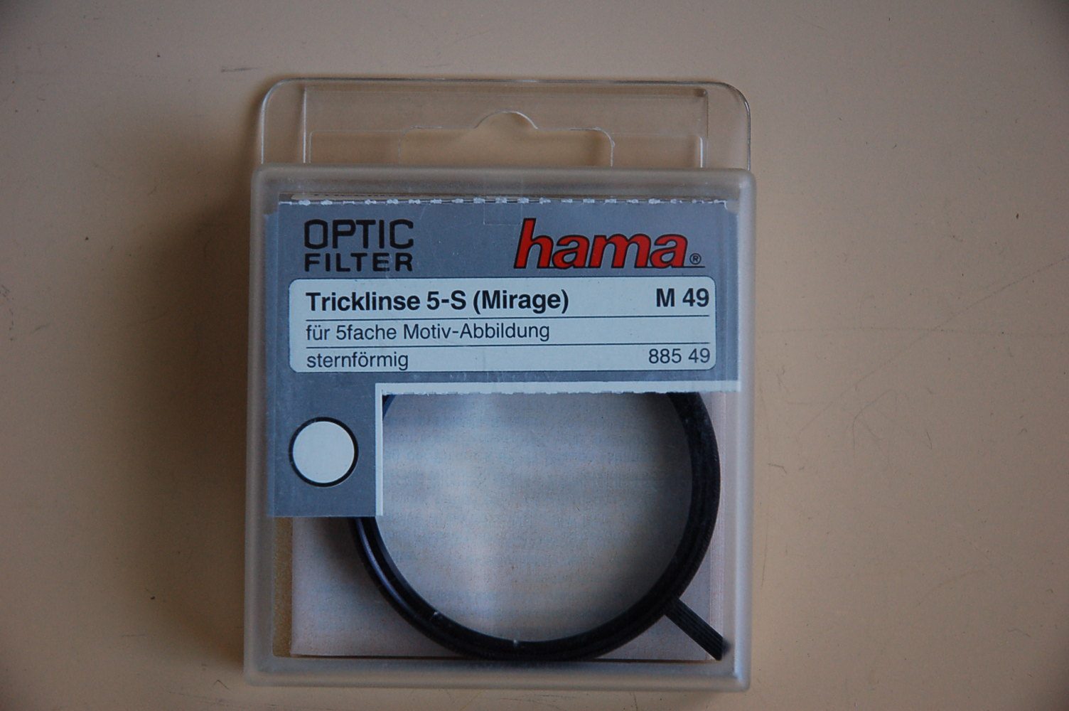 Hama Filter Tricklinse 5-S (Mirage) M49 #88549