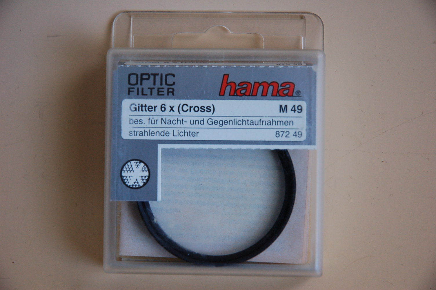 Hama Filter Gitter 6x (Cross) M49 #87249