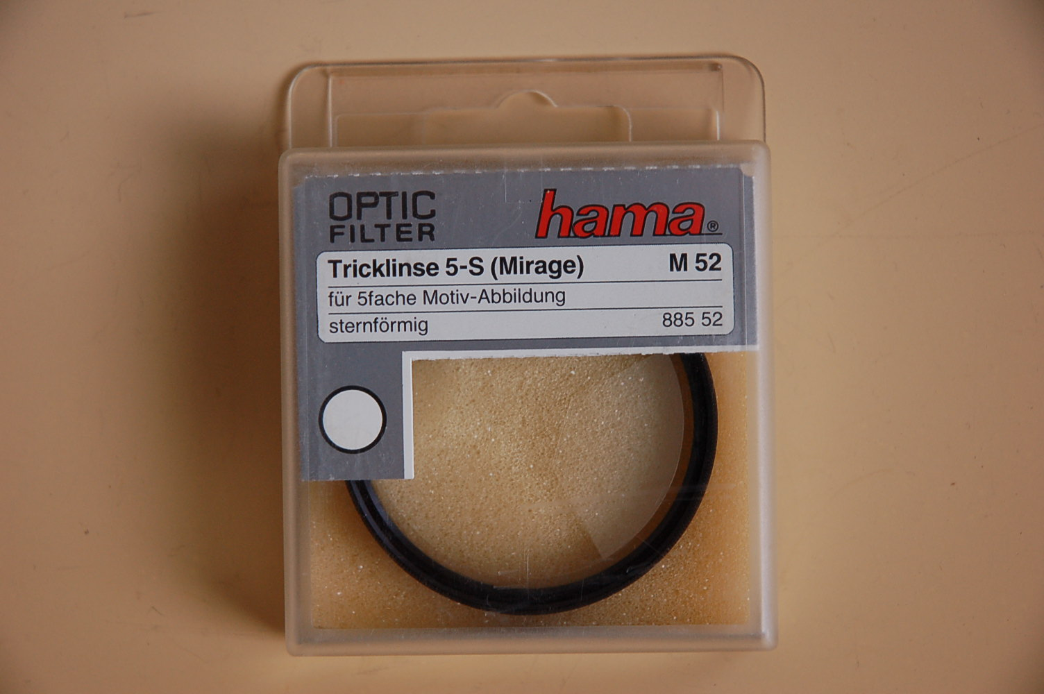 Hama Filter Tricklinse 5-S (Mirage) M52 #88552