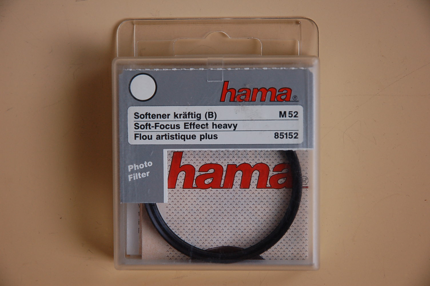 Hama Filter Softener B (kräftig) M52 #85152