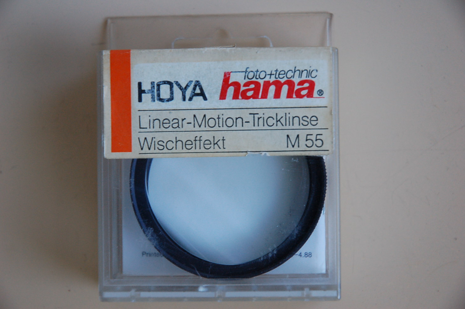 Hama Filter Linear-Motion Tricklinse M55 #48055