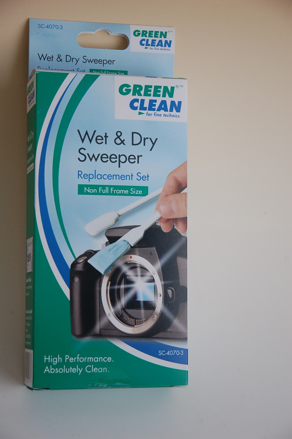 GreenClean Sensor Cleaner Wet and Dry 15mm 3 St.SC-4070-3