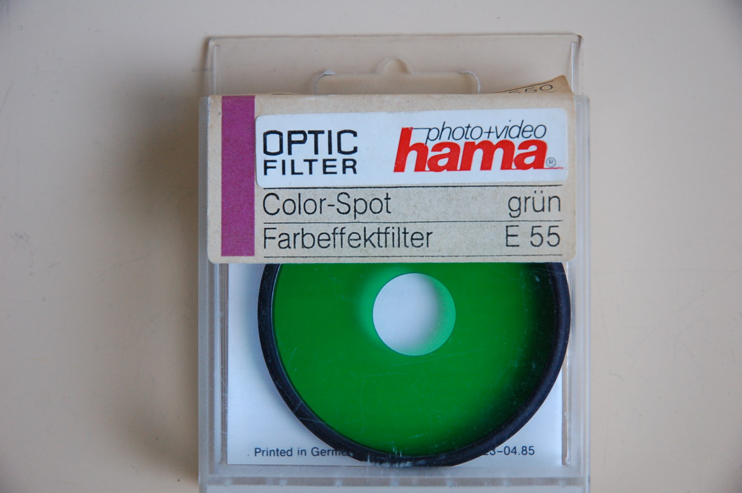 Hama Filter Color Spot grün M55 #82155