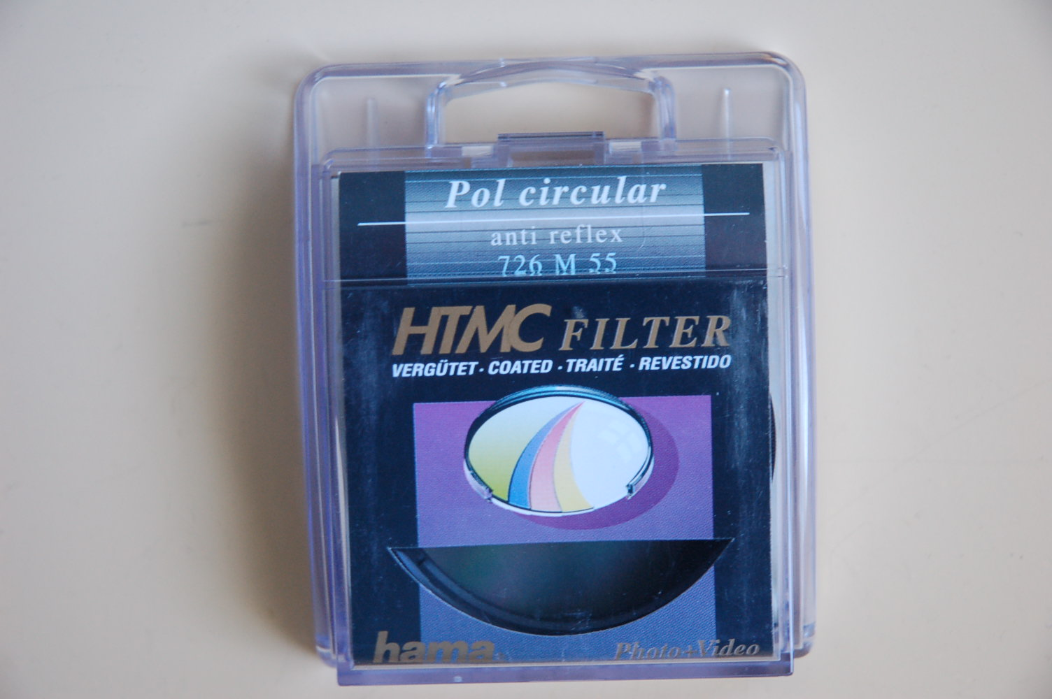Hama Filter Polarisation circular M55 #72655