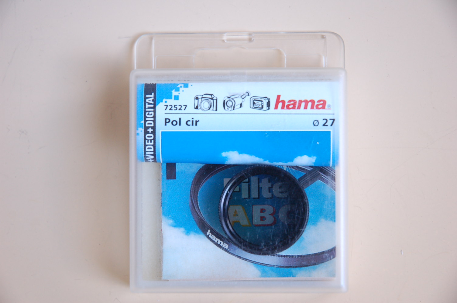Hama Filter Polarisation circular M27 #72527
