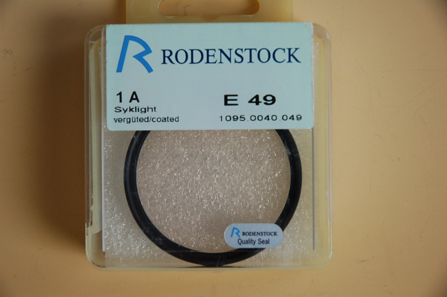Rodenstock Filter Skylight 1A Ø49E
