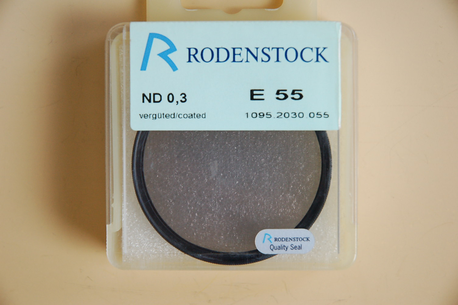 Rodenstock Filter Grau-Neutral ND 0,3 Ø55E