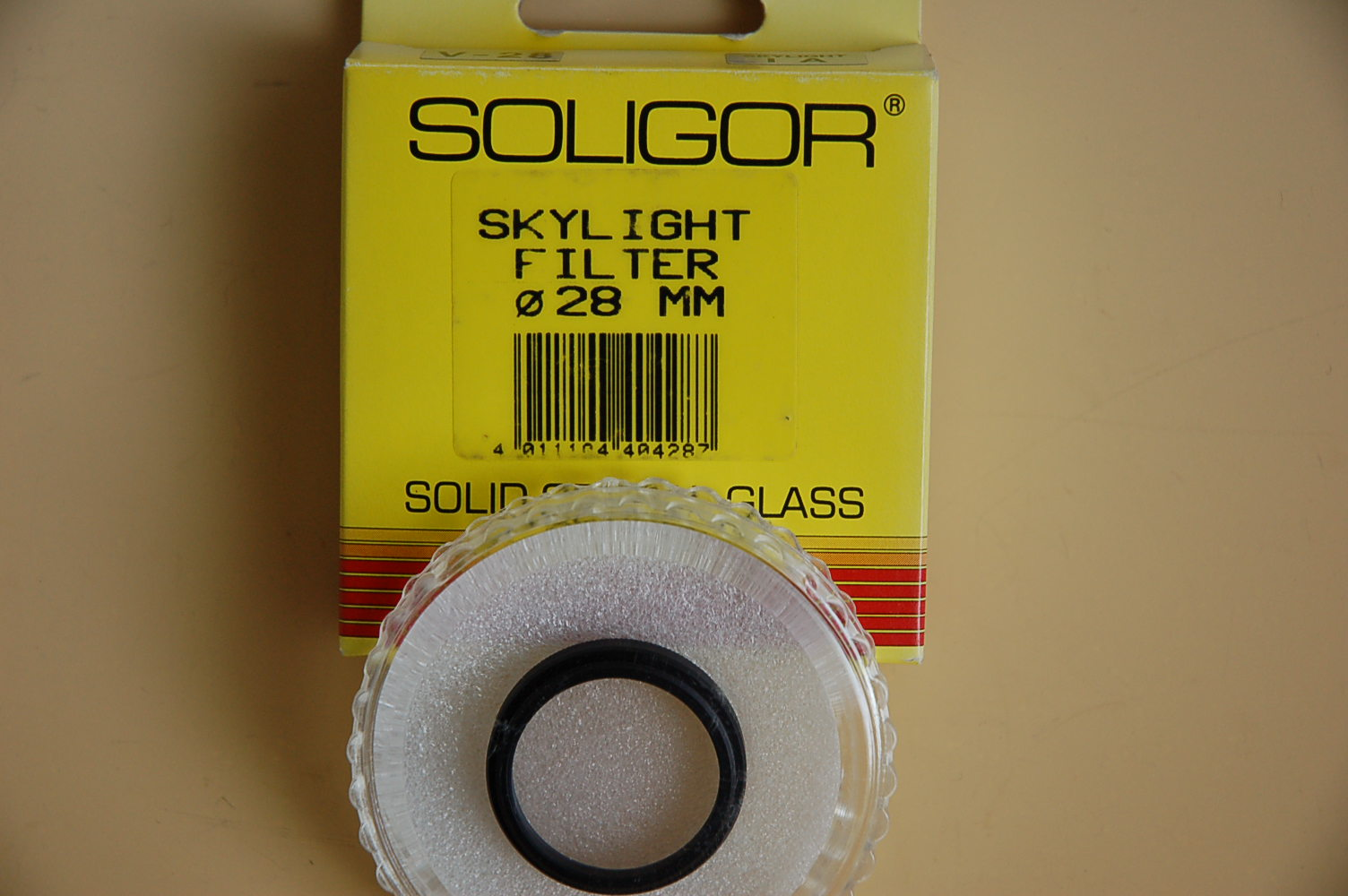 Soligor Filter Skylight 1A Ø28E