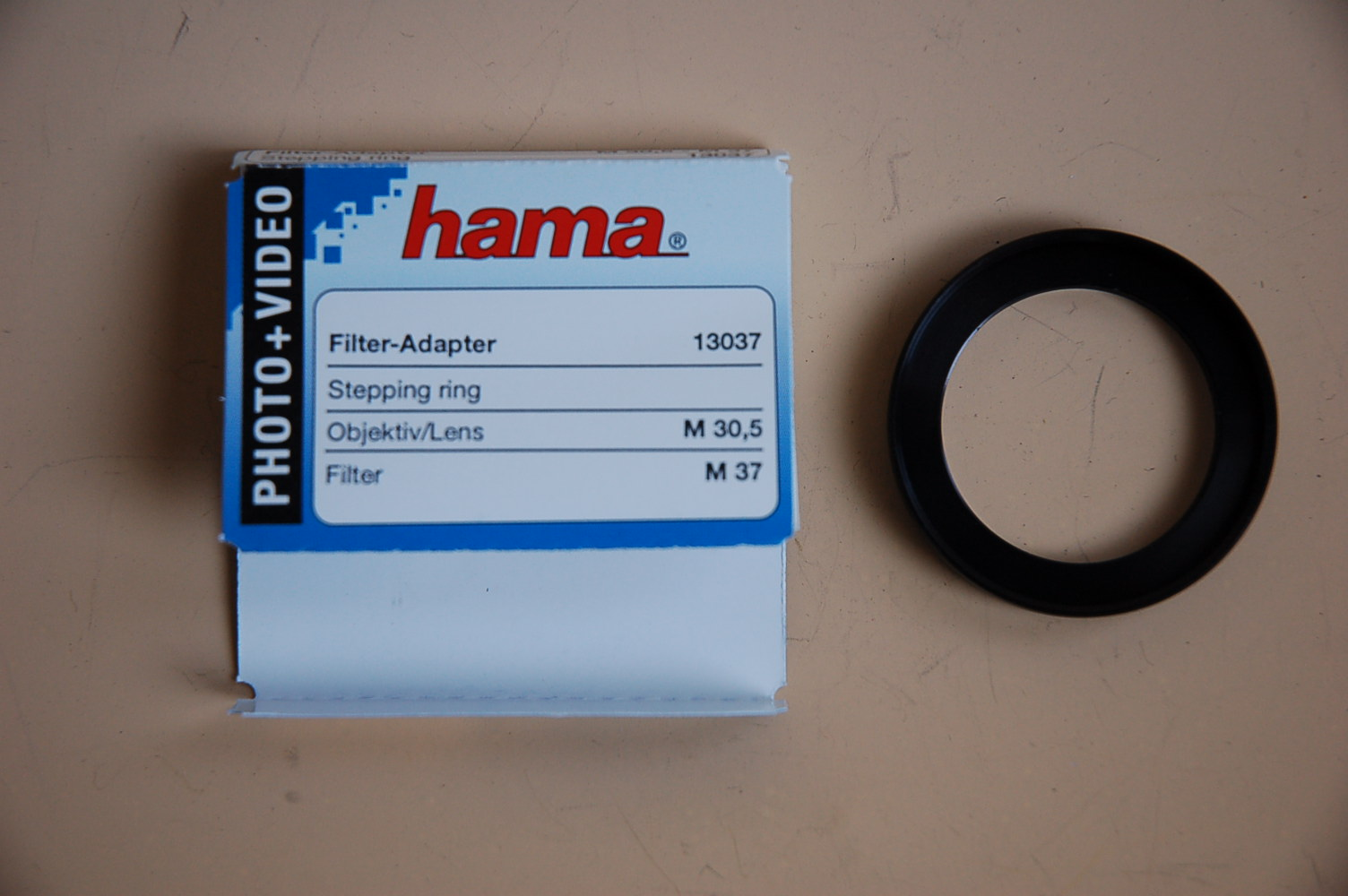Hama Filter Adapter 30,5<37mm 13037