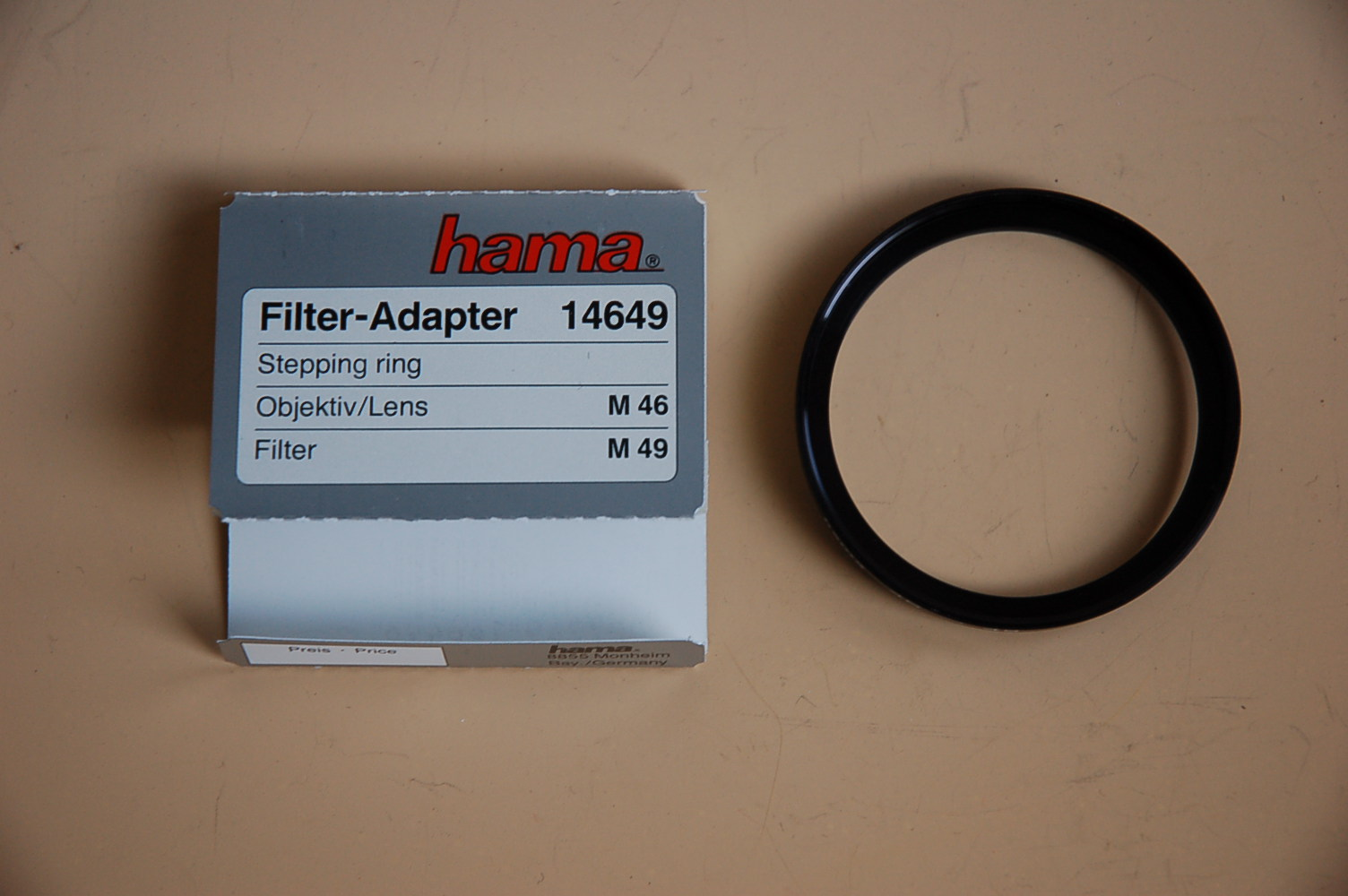 Hama Filter Adapter 46<49mm 14649