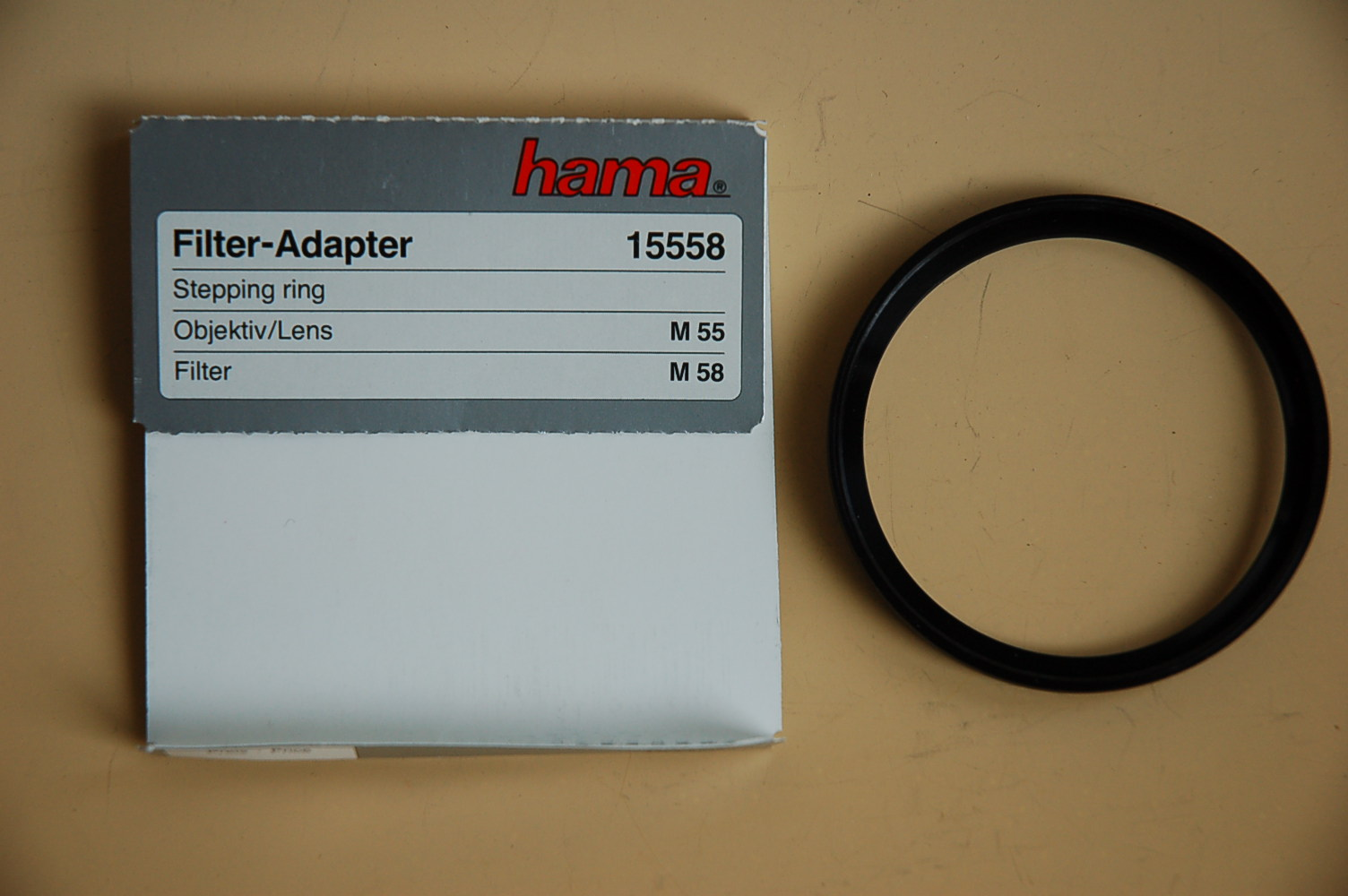 Hama Filter Adapter 55<58mm 15558