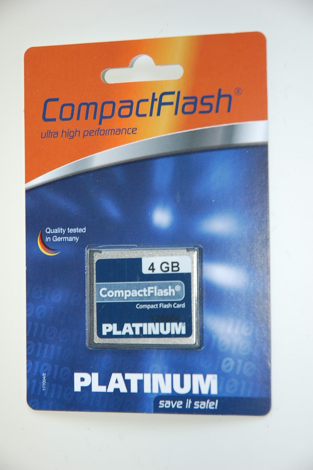 Platinum CF Card 4 GB HC