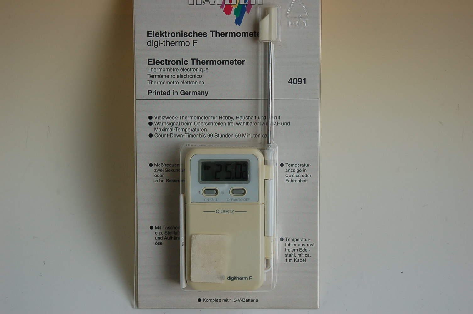 Kaiser digi-thermo F Thermometer 4091 2.Wahl