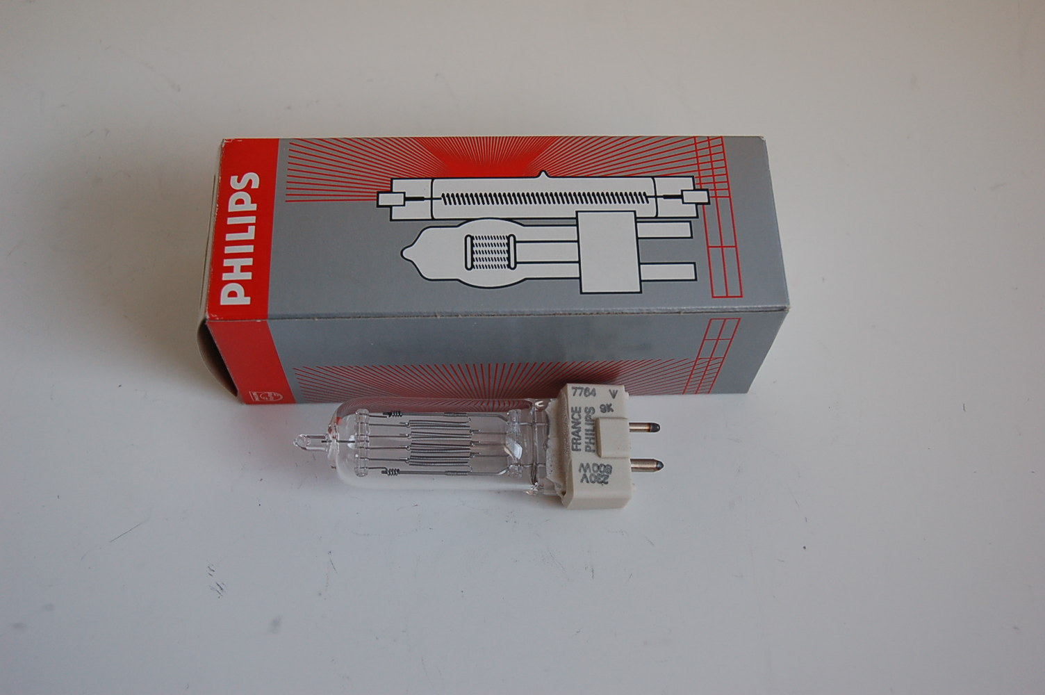 Philips Halogen Lampe 230V 800W GY9.5 #7764
